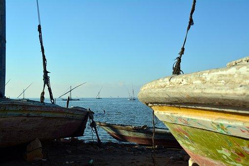 Boats, Port, Sea, Coast, Shore, Fishing, Fishing Boats