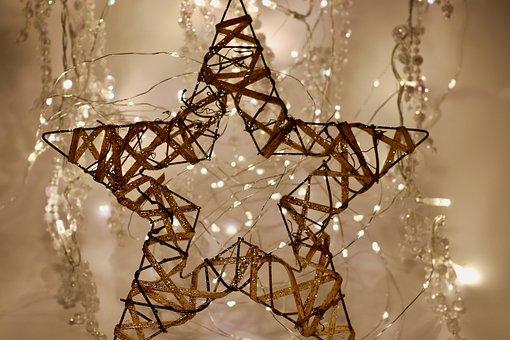 Christmas, Star, Decoration, Lights, Christmas Lights