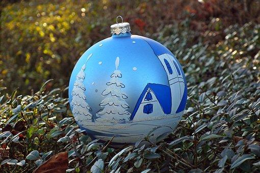 Christmas, Holidays, Bauble, Decorative, Ornament