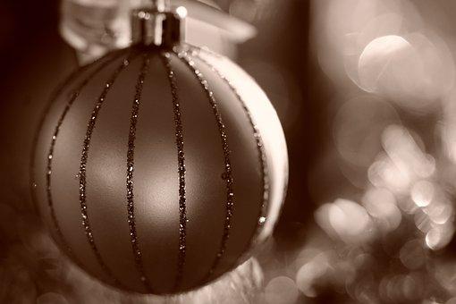 Jewellery, Christmas Bauble, Christmas, Nostalgic