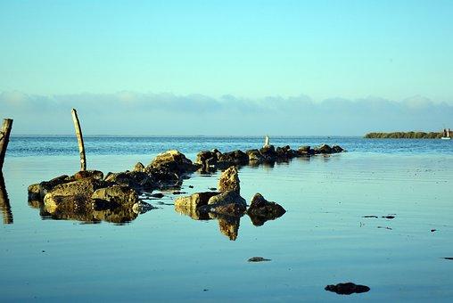 Egypt, Brolos Lake, Sea, Nature, Landscape, Fishermen