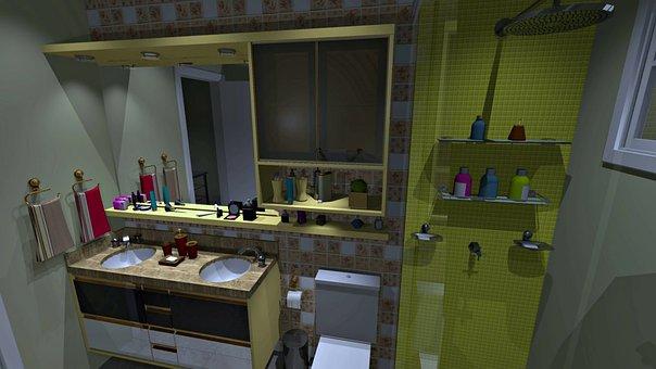 Banheiro Planejado, Moveis Planejados, Marcenaria