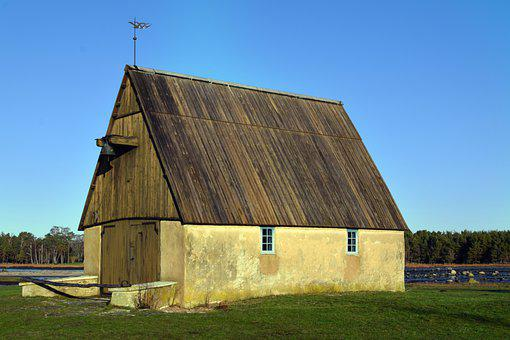 Chapel, Building, Rural, Meadow, Landscape, Old Chapel