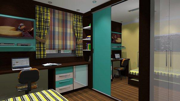 Dormitório De Menino, Quarto Planejado