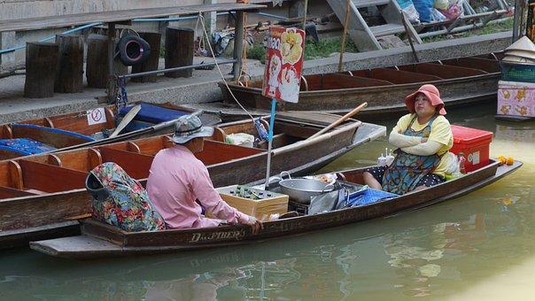 Floating Market, Thialand, Bangkok