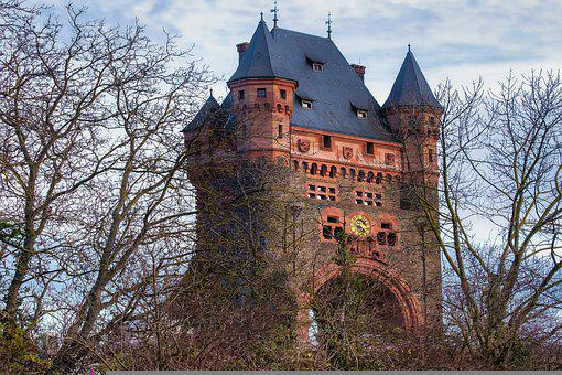 Tower, Worms, Germany, Old, Building, Historically