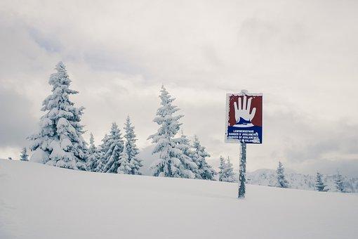 Alpine, Winter, Landscape, Snowy, Avalanche Danger
