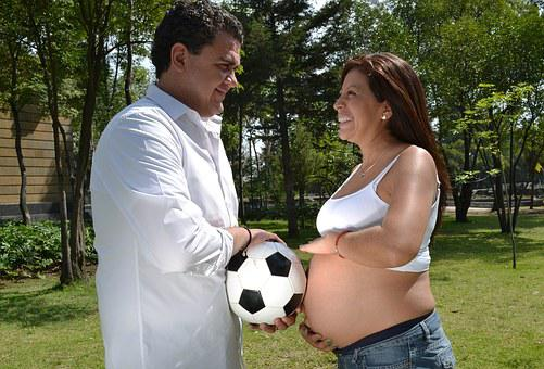 Ball, Bebe, Potato, Mama, Pregnancy, Happy, Baby