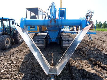 Drainage, Vehicle, Barth, M45, Equipment, Construction