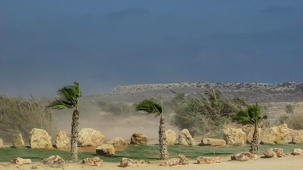 Wind, Dust, Weather, Climate, Windy, Air, Sandstorm