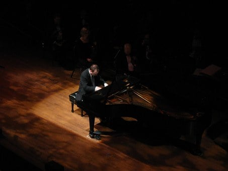 Piano, Pianist, Stage, Concert, Music, Instrument