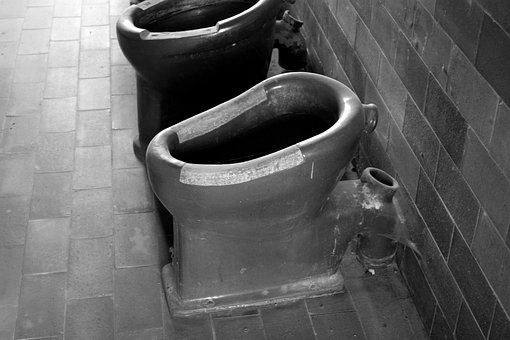 Konzentrationslager, Dachau, Kz, Plumbing, Toilets
