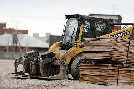 Excavator, Power Shovel, Digger, Construction