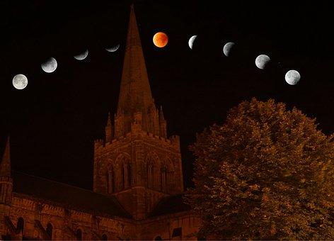 Lunar Eclipse, Moon, Lunar, Eclipse, Night, Astronomy