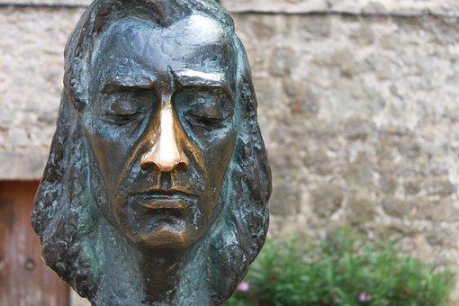Fryderyk Franciszek Chopin, Sculpture, Bronze, Fig