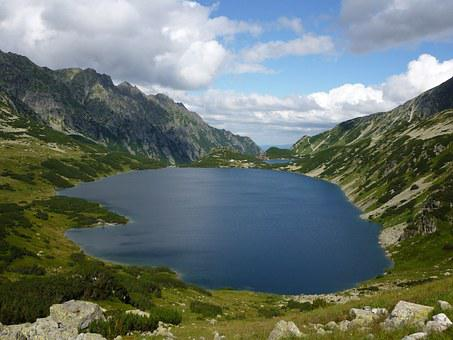 Valley Of Five Ponds, Tatry, Mountains, Hiking Trails
