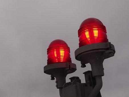 Light, Fog, Red, Signaling