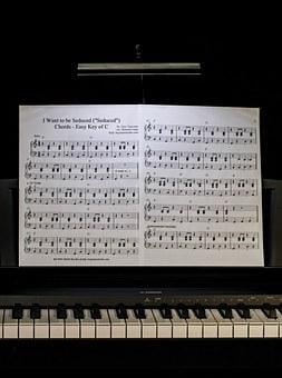 Piano Lesson, Music, Keyboard, Piano, Pianist, Practice