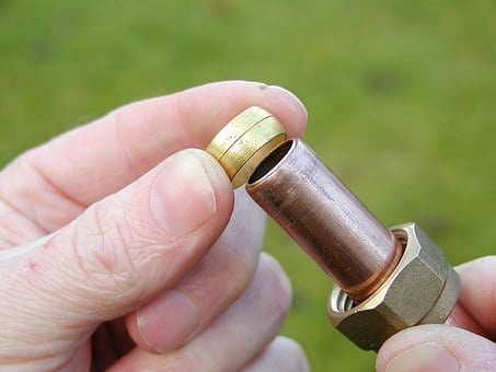 Copper, Pipe, Plumbing, Tube, Fitting, Olive Ring
