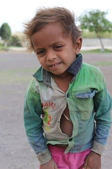 Poverty, Child, Small, Boy, Childhood, Orphan, Little