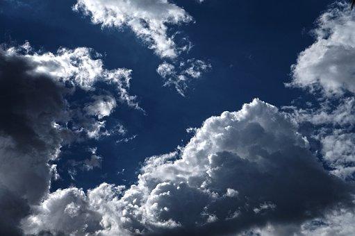 El Salvador, San Marcos, Sky, Clouds, Air, Oxygen, Noon