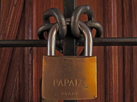 Padlock, Chain, Lock, Security, Secure, Closed, Chained