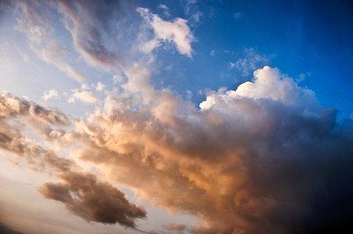 Cloud, Sky, Blue, Summer, Sunlight, Weather, Sunny