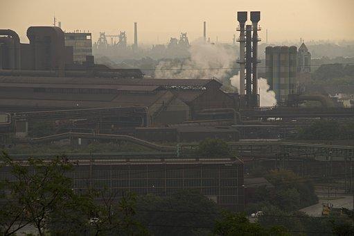 Industry, Steel, Metal, Factory, Ruhr Area, Thyssen
