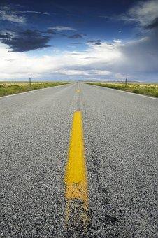 Road, Sky, Highway, Travel, Journey, Asphalt, Landscape