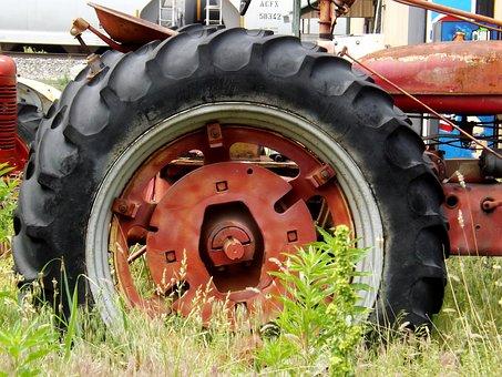 Wheel, Tractor, Vehicle, Equipment, Machine