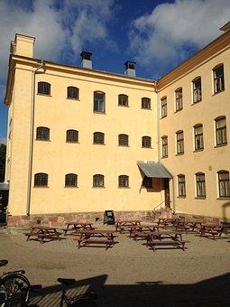 Gävle, Museum, Prison, Building, Coffee Break, Window