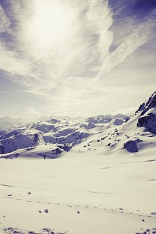 Alpine, Snow, Landscape, Mountains, Winter