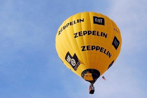 Hot Air Ballon, Festival, Balloon, Fly, Sky, Yellow