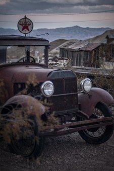 Car, Vehicle, Transportation, Abandoned, Vintage