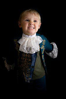 Boy, Child, Kid, Costume, Halloween, Gothic, Model