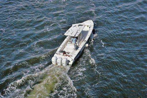 High Speed Boat, Ocean Fishing Boat, Fast, Powerful