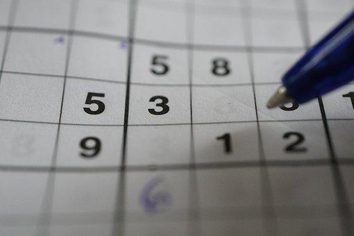 Sudoku, Logic Game, Game, Puzzle, Pen, Brain