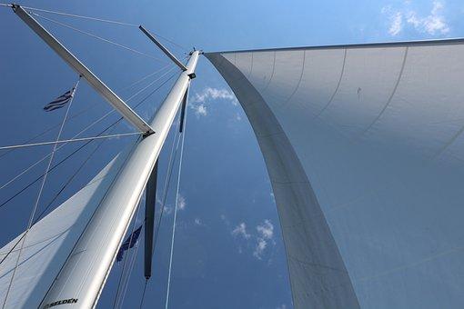 Ship, Boat, Sail, Sailing Boat, Sea, Water
