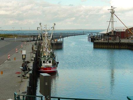 Port, Boat, Sea, Coast, Dock, Harbor, Ocean, Bay, Water