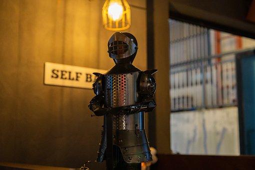 Knight, Armor, Figure, Decorative, Decoration, Article