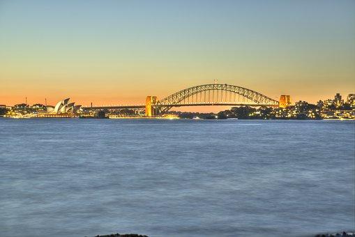 Alien, Australia, Magic, Ocean, Alone, Harbour Bridge