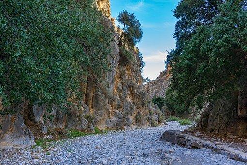 Imbros Gorge, Crete, Greece