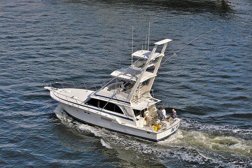 Deep Sea Fishing Boat, Fishermen, Boat, Ocean, Deep Sea