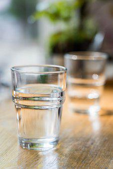 Water, Cup, Cafe, Drink, Beverage, Morning, Glass