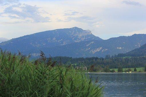 Walchee, Austria, Lake, Landscape, Mountains Tyrol