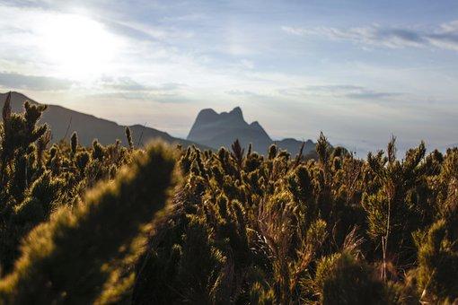 Mountain, Peak Parana, Carature, Hill, Nature, Sunrise