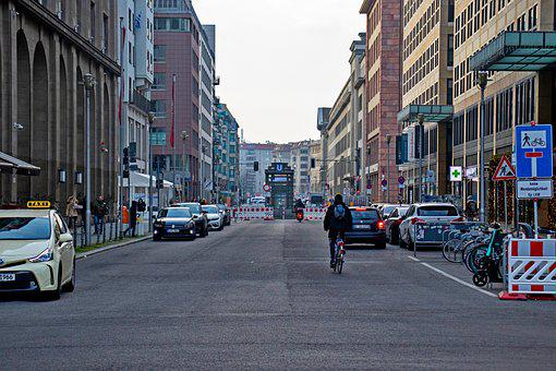 Street, Cars, Traffic, Buildings, Infrastructure, Town