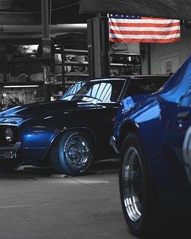 Chevrolet, Camaro, Chevi, Retro, Klassisch, Jahrgang