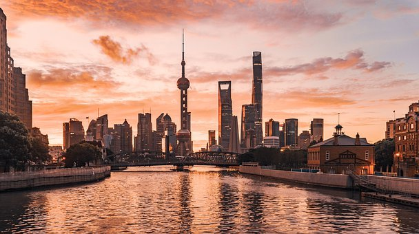 Shanghai, Pudong, Lujiazui, Pearl Of The Orient, China