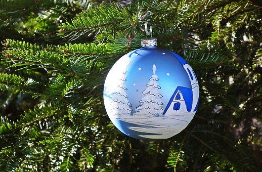 Christmas, Christmas Ball, Christmas Tree, Bauble